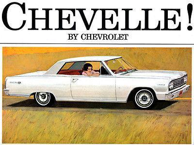 Primary image for 1964 Chevrolet Chevelle - Promotional Advertising Poster