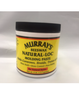 MURRAY'S BEESWAX NATURAL-LOC MOLDING PASTE 6oz CONROW, BRAIDS, TWISTS - $5.89