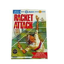 Racket Attack Nintendo Video Game Box and Manual Only Vintage - $29.99