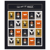 USPS The Art Of Magic Sheet of 20 Forever Stamps - $13.99