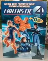 Fantastic 4 Sticker Adventure Book - $5.00