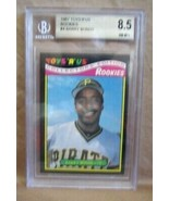 Barry Bonds RC 1987 Toys R' Us Rookie Card#4 NM+ BGS8.5!PIRATES GIANTS O... - $98.99