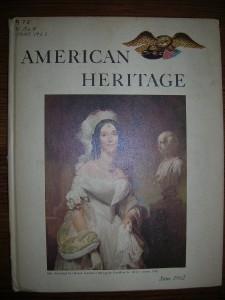 AMERICAN HERITAGE magazine Lot of 24 1957 - 1964