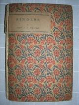 1923 FINDERS John V. A. Weaver poetry poet [1ST] - $30.00