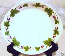 Norsk Egersund Pottery Plate - Norway - $8.00