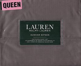 Ralph Lauren Dunham Charcoal Sheet Set Queen - $91.00