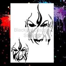Torch Woman set on 12x9 Airbrush Stencil - $10.99
