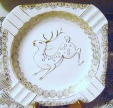 Royal Carlton  Christmas Reindeer Plate  - $12.00