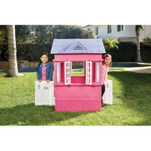 Kids Play House Toy Girls Outdoor Indoor Princess Cottage for Toddlers Pink - $168.60