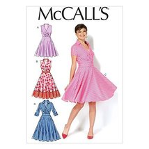 McCall Pattern Company M7081 Misses' Dresses, Size A5 - $14.21