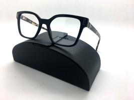 Prada VPR 05T 1AB-1O1 Shiny Black/Havana New Authentic Eyeglasses 50mm w/Case - $96.97
