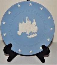 Wedgwood Jasperware American Independence Plate 1776-1976 Victory at Yor... - $29.69