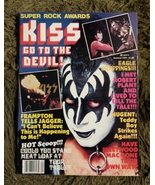 KISS SUPER ROCK AWARDS Magaine Summer 1979 Complete Near Mint Condition - $45.00