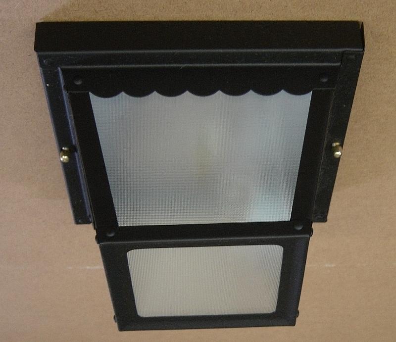 New 2071-5 Savant Carport Light Fixture - $14.99