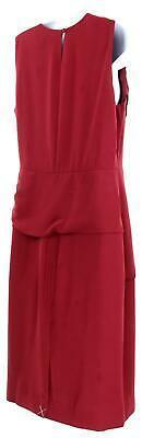 J Crew Women's High Neck Sheath Dress Everyday Lucky Crepe Wear to Work 8 J7452 image 6