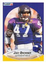 1990 Fleer #95 Joey Browner NM-MT Vikings - $0.99