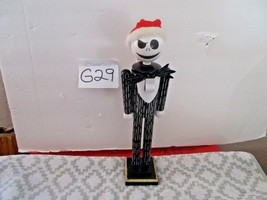 Jack Skellington in  The Nightmare Before Christmas Nutcracker in Santa Hat - $29.99