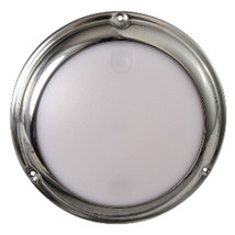 Lumitec TouchDome - Dome Light - Polished SS Finish - 2-Color White/Red Dimming - $119.00