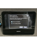 "Sony HID-C10 Dash Internet Alarm Clock w/ 7"" Touchscreen Chumby compatible - $43.53"