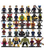 34pcs Minifigures Avengers Infinity War Thanos SuperHero Hulk Iron Man L... - $48.50