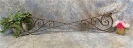 Cast Iron Bracket Sign Holder Hanger Architectural Salvage Gas Oil Vinta... - $177.00