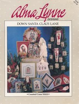 Down Santa Claus Lane, Alma Lynne Christmas Sampler Cross Stitch Pattern... - $5.95