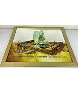 "Pilsner Urquell Celebrate Birth Of Golden Beer Mirror Bar Sign 27"" X 21""... - $133.33"