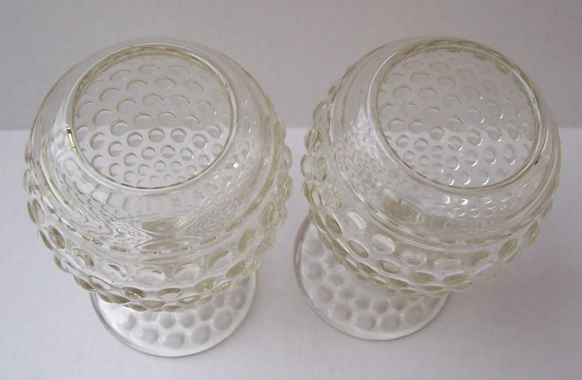 Duncan & Miller Hobnail Thousand Eye Ivy Ball Vase PR