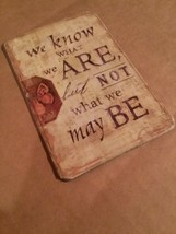 Refrigerator Magnet Vintage Style Quote Magnet Inspirational We Know Wha... - $2.99