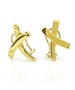 Tiffany & Co. Paloma Picasso X Earrings in 18k Yellow Gold - $1,039.50