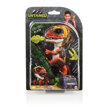 WowWee Untamed Raptor by Fingerlings - Interactive Collectible Dinosaur - Blaze - $24.00