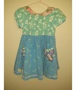 Wildflowers Clothing Boho Chic Dress Precious Multi Patterned Baby Girls 2  - $39.01