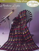 Northern Lights Thrifty Scraps Afghan TNS Crochet PATTERN/INSTRUCTIONS/NEW - $1.41
