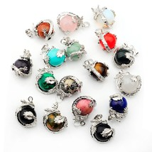 2018  The Most Fashionable Dragon Necklace Pendant Opal Tiger Eyes Match... - $9.99