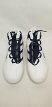 Adidas Freak X Carbon Mid Football Cleat Men  Size 14 White/Navy  New FW4 - $39.99