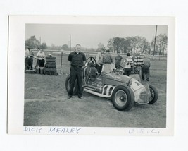 Dick Mealey-#28-URC-Sprint Car Photo-Roll Cage-1960's-VG - $20.61
