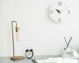 Moro Design Point Line Wall Clock non Ticking Silent Clock (Numeric Sky Blue) image 3