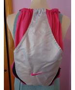 Nike 56323 Backpack Pink & Silver Tote Gym Bag - $18.69