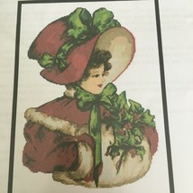 Artecy Christmas Belle Counted Cross Stitch Pattern Tereena Clarke Holiday - $13.49