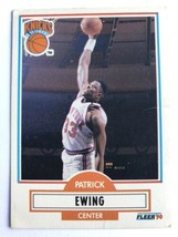 1990 Fleer #125 Patrick Ewing New York Knicks NBA Basketball Card - $0.99