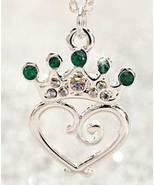 Birthstone Princess Necklaces ( May ) - $12.27