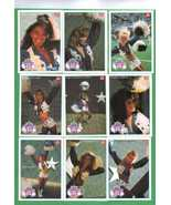 1992 Lime Rock Dallas Cowboys Cheerleaders Lot