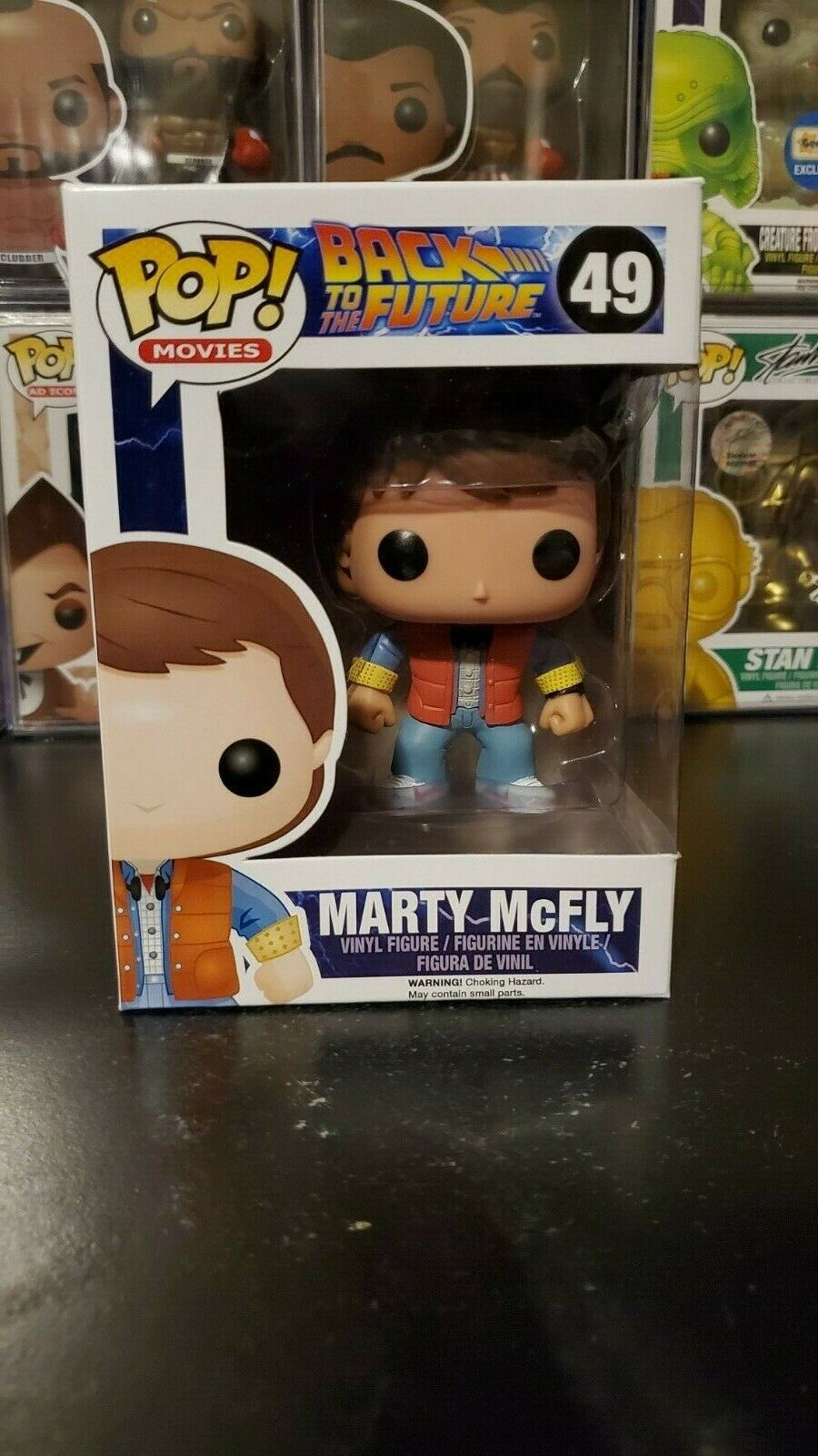 Funko Pop! Movies Back to the Future Marty McFly #49 Vinyl Figure WITH PROTECTOR
