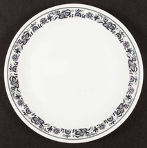 1970's Vintage Large Dinner Plate in The Old Town Blue (Corelle) by Corn... - $10.99
