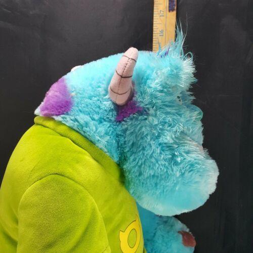 """Disney Oozma Kappa Sully Monsters Inc University Plush Pixar 18"""" Large Stuffed"""
