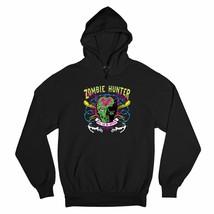 Zombie Hunter Glow in the Dark Sweatshirt Halloween Undead Apocalypse Hoodie - $25.57+