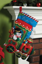 Bucilla 'Candy Express' Christmas Felt Stocking Stitchery Kit, 86147 - $27.99