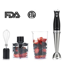 Self-Mate 3 in 1 Dual Speed Immersion Hand Blender Kitchen Set – Stainle... - €46,40 EUR