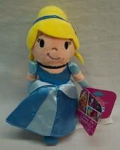 "Disney Princess CUTE LITTLE CINDERELLA GIRL 5"" Plush STUFFED ANIMAL Toy NEW - $18.32"