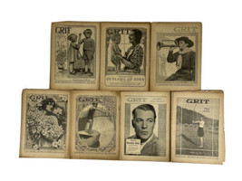 GRIT Magazine Story Section 1933 Antique Periodical- Lot of 7 - $34.60